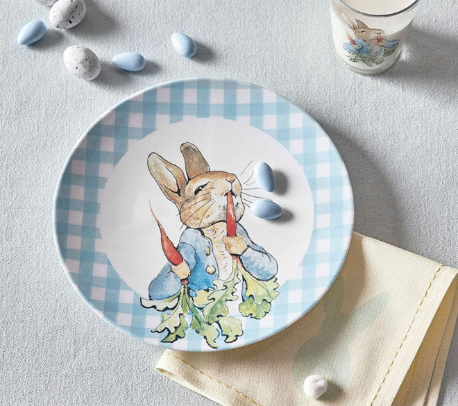 Beatrix Potter plate Pottery Barn