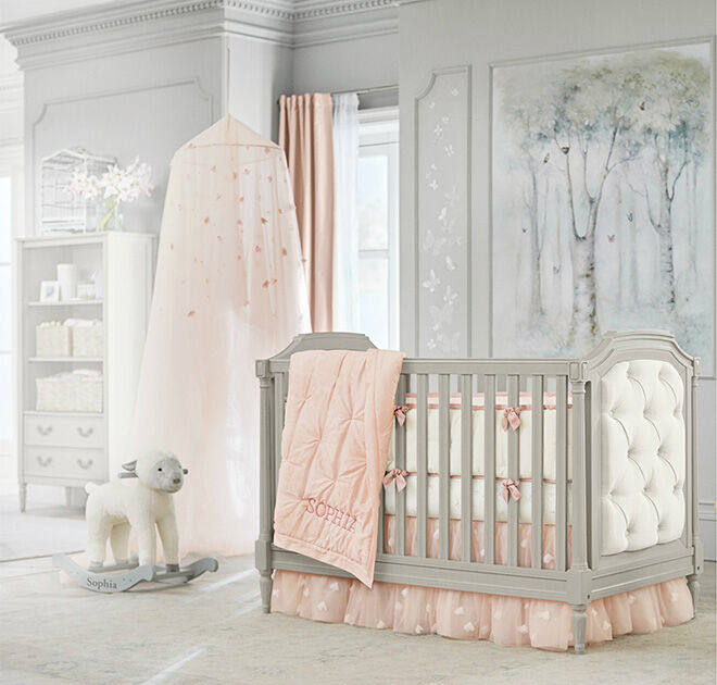 Pottery Barn Kids Blythe convertible cot