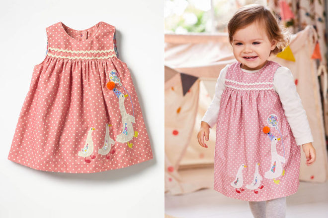 Mini Boden Circus Collection baby dresses