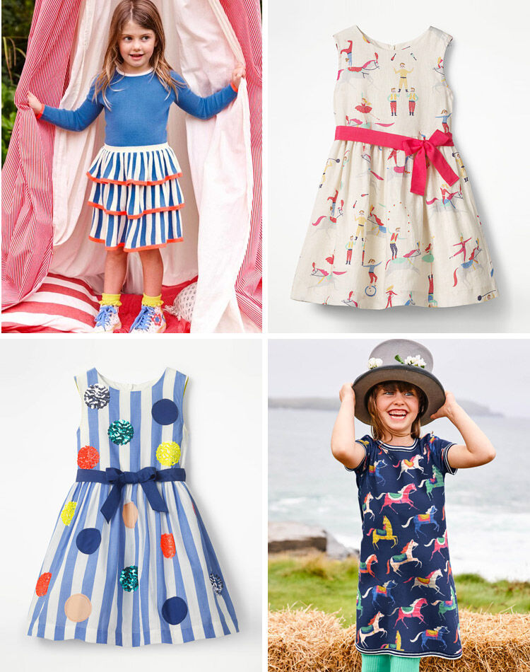 Mini Boden Circus Collection Dress