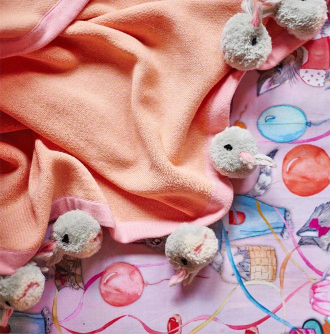 Kip & Co Bunny Blanket