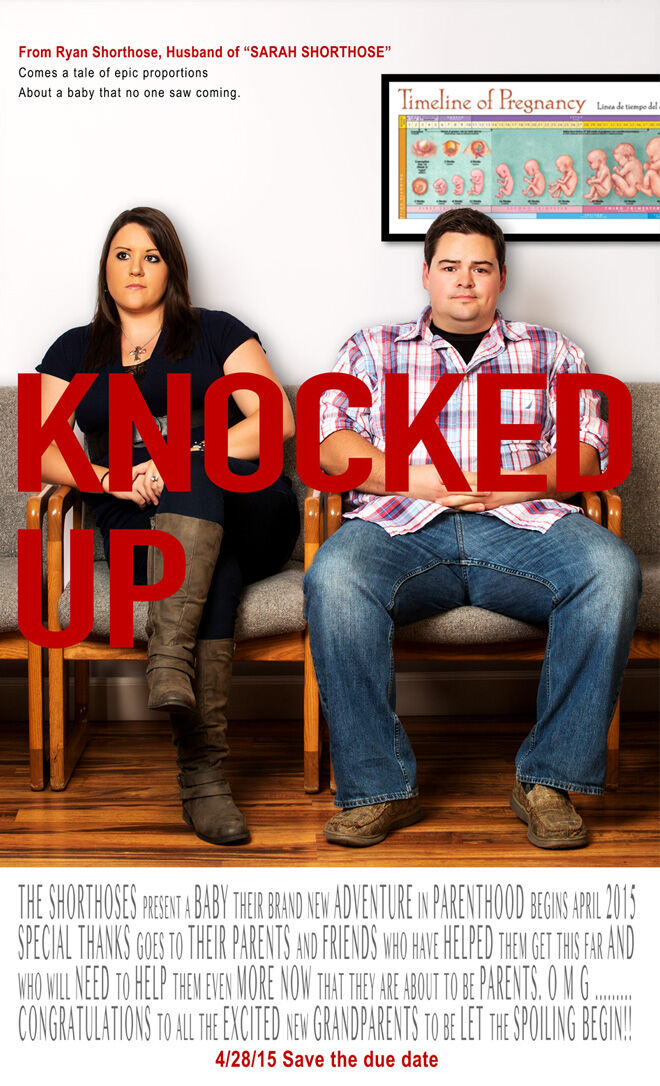 Knocked Up movie pregnancy announcement
