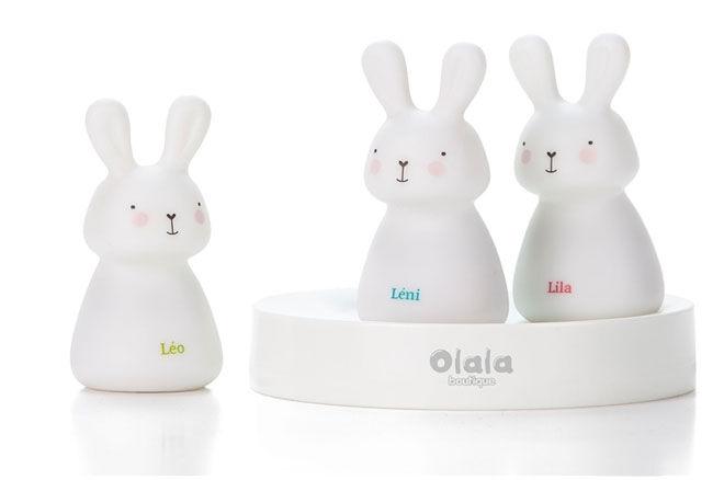 Leo, Leni & Lila Night Light Bunnies