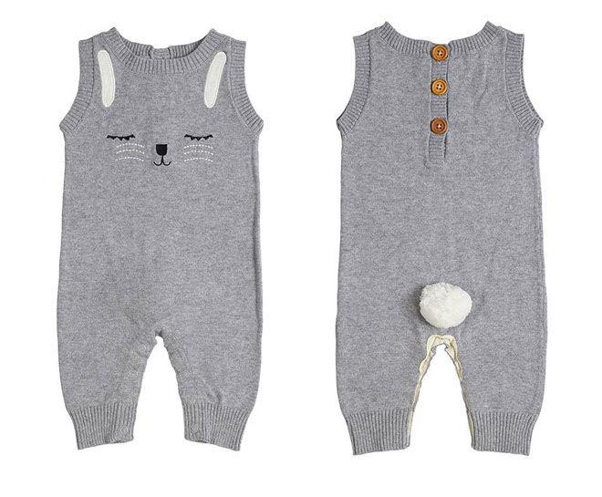 Miann&Co Rabbit Knit Suit