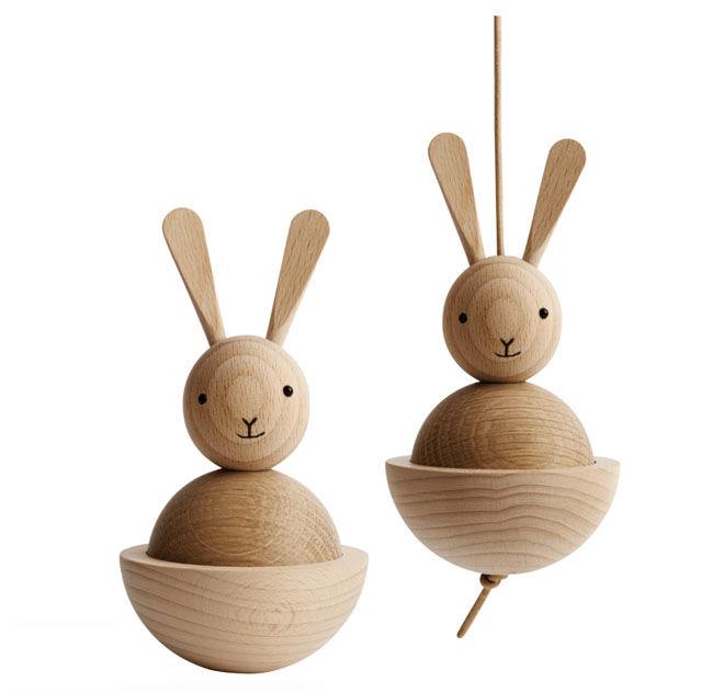 Oyoy Wooden Rabbit