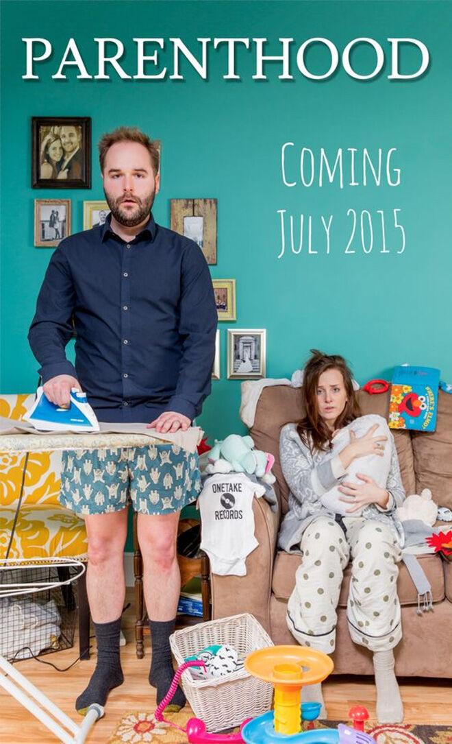 Parenthood movie poster pregnancy announcement