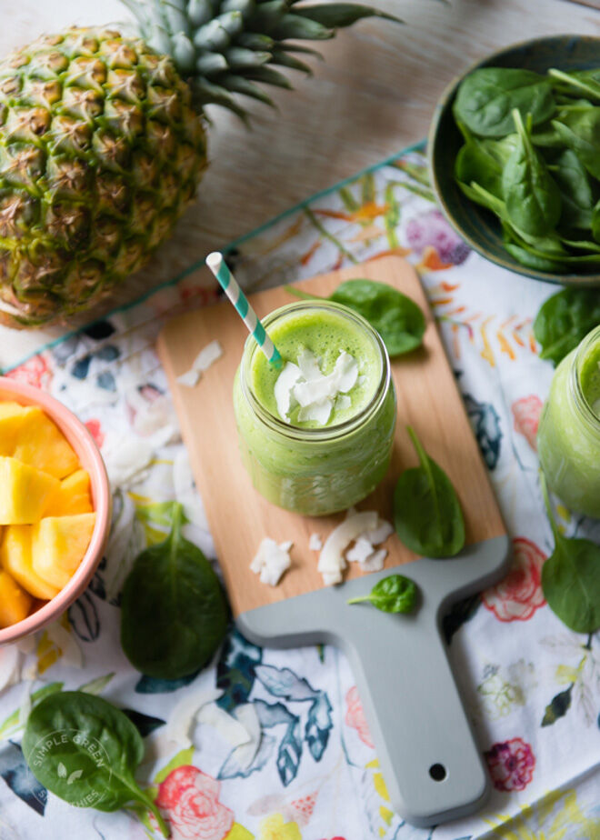Gestational diabetes breakfast pina colada smoothie recipe
