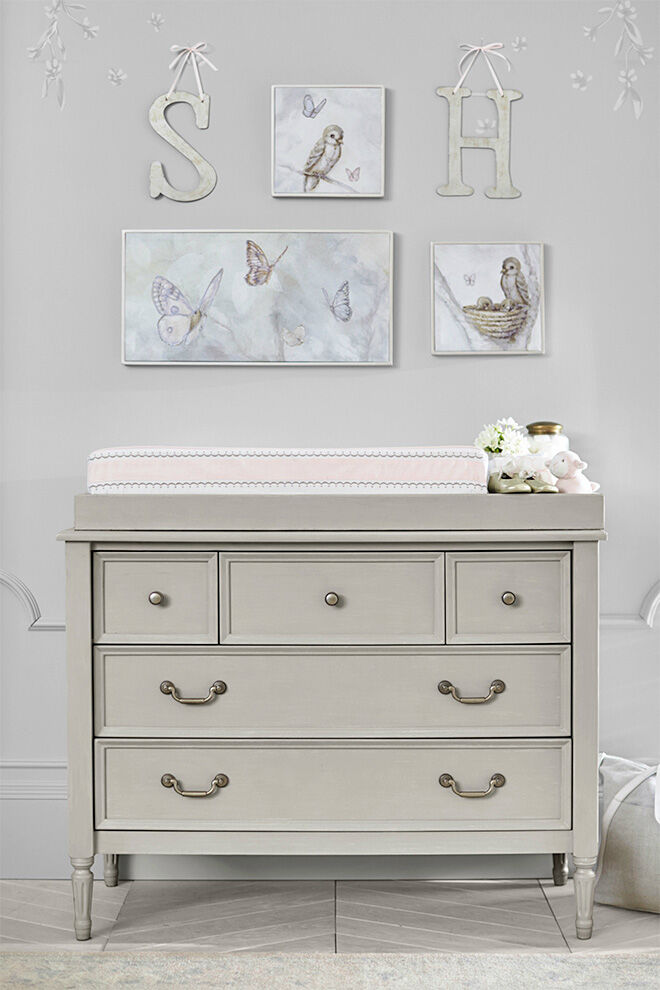 drawer inch by inside ordinary amazing sets dresser ideas vintage white mirror pulls with table in baby changing