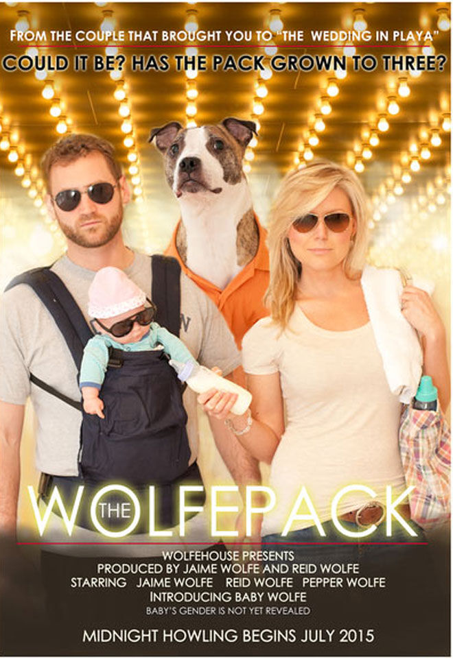 15 clever movie poster pregnancy announcements