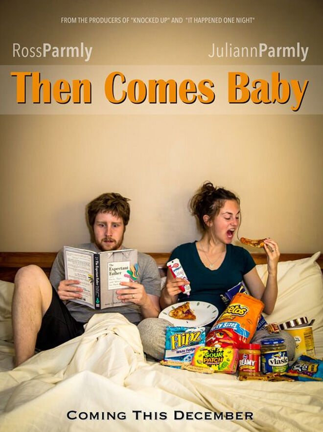 Then Comes Baby movie poster pregnancy announcement