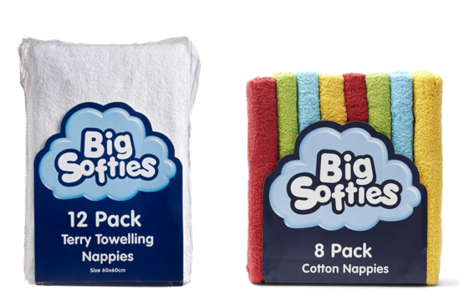 Big Softies Terry Towelling Nappies
