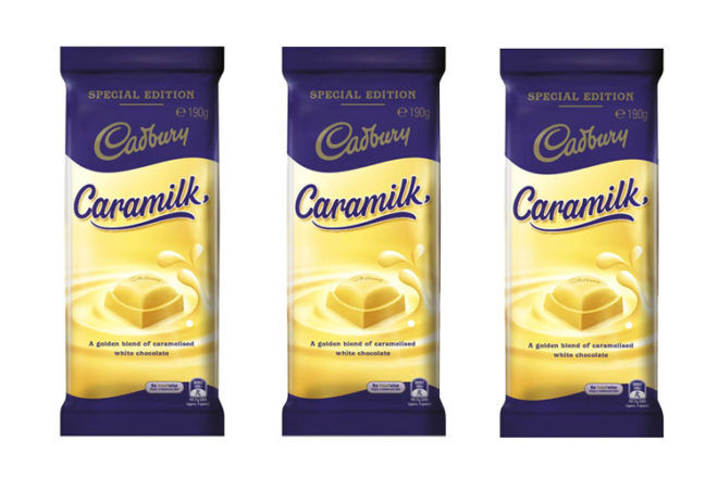 Cadbury Caramilk Chocolate recalled