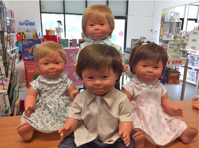Belonil down syndrome dolls
