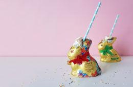 Use leftover Easter bunny to make milkshake