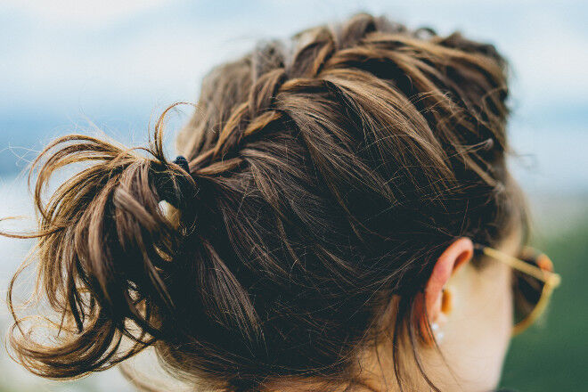 postpartum hair loss braid