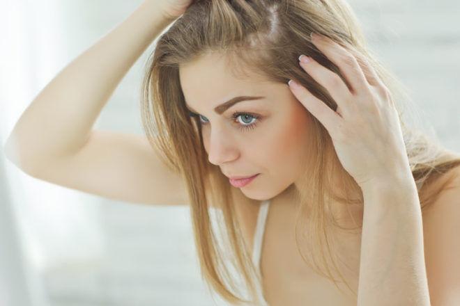 hair loss thinning postpartum mum