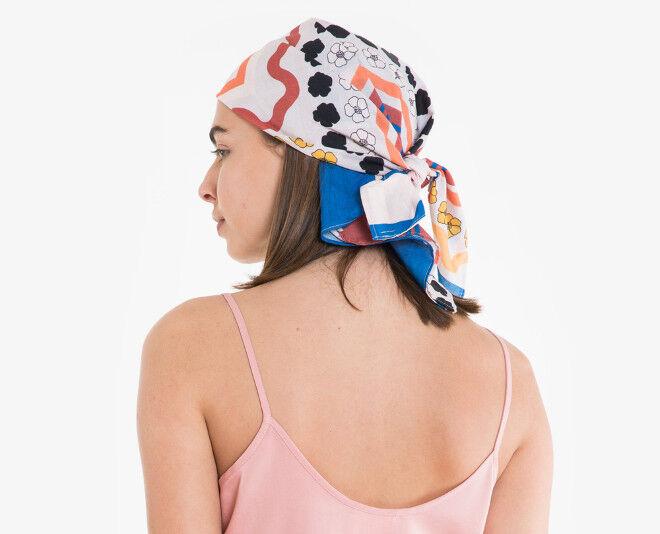 Obus head scarf hair loss postpartum