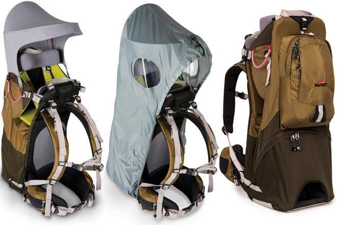 mont-bambino Osprey Karinjo baby hiking backpack carrier