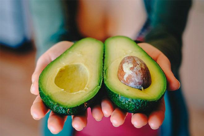 Avocado eating for morning sickness