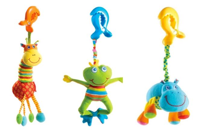 Tiny Love Pram Clip toys