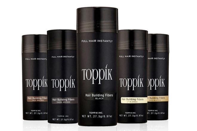 Toppik hair fibres for postpartum loss