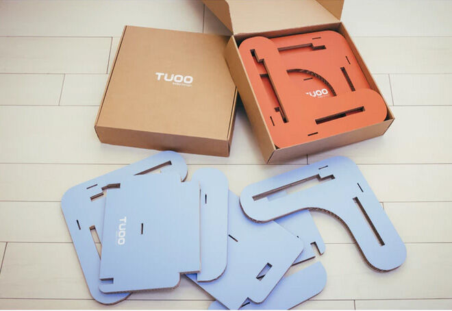 RAILZOO cardboard booster assembly by Tuoo