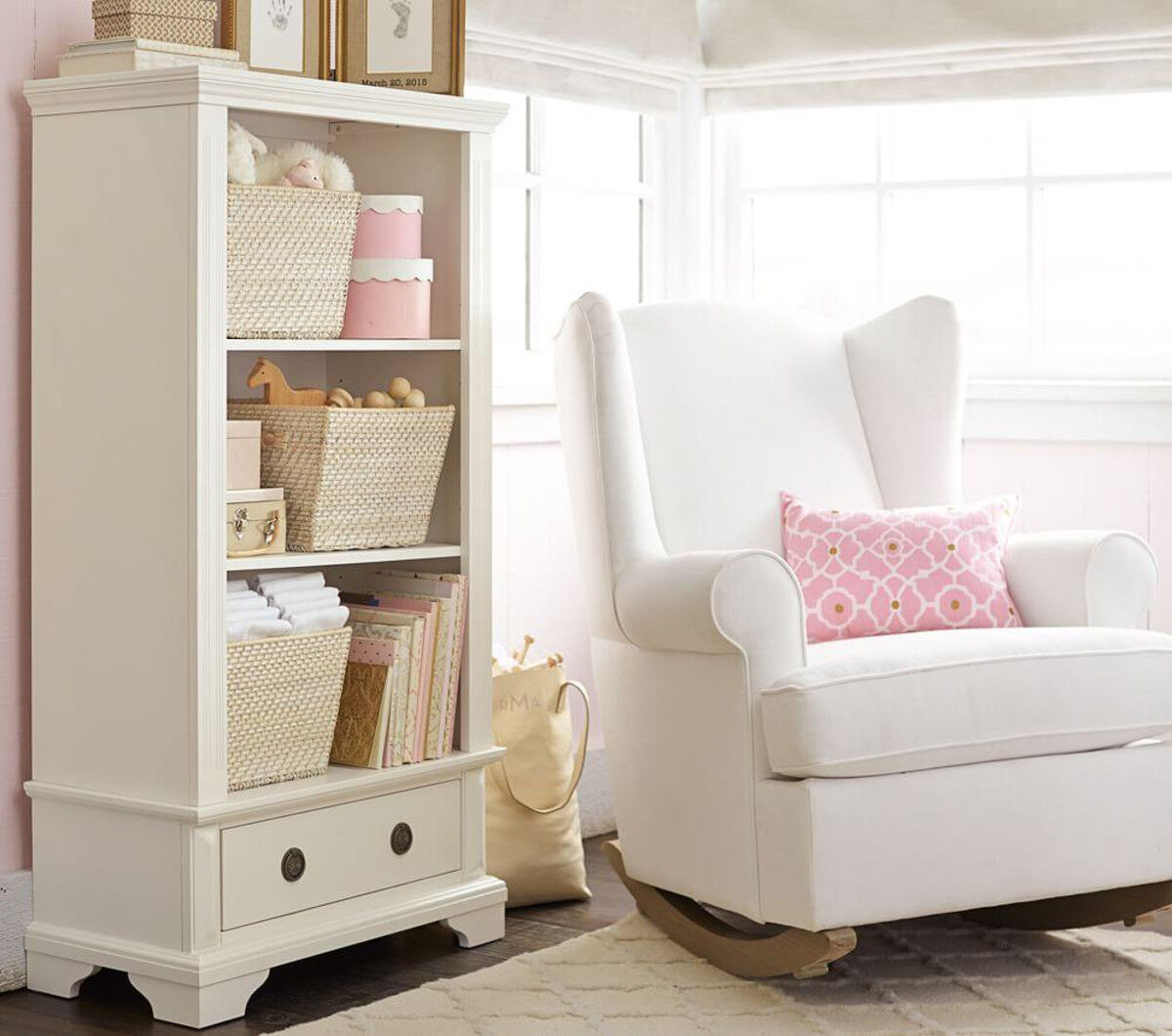 Pottery Barn Kids Wingback Nursing Rocker