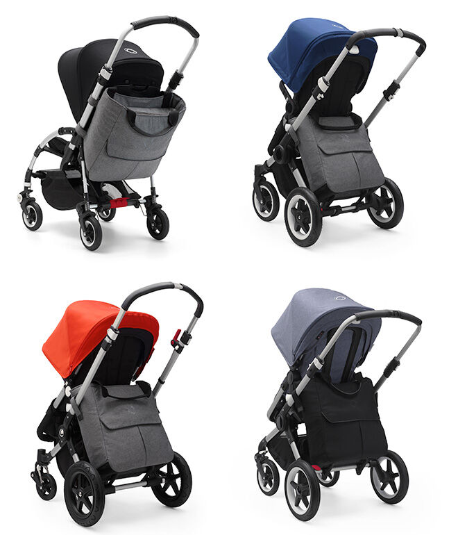 Mammoth bag on Bugaboo prams