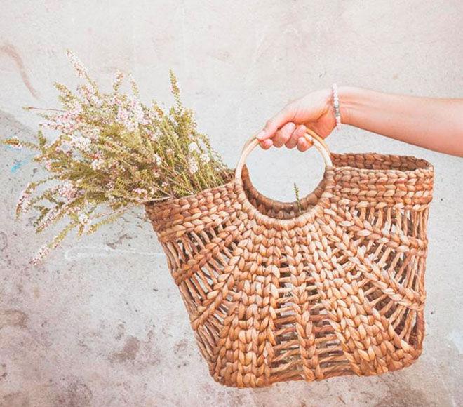 Camino Goods, banana leaf shopping basket