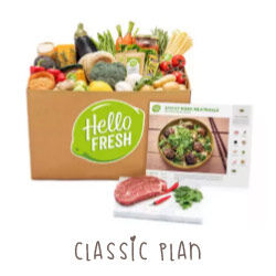 Hello Fresh Classic Plan