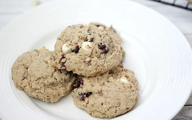 Cranberry White Chocolate Lactation Cookies