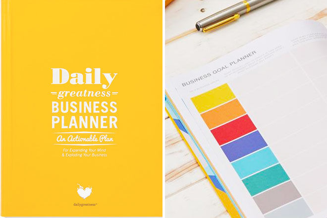 Business Planner, Daily Greatness