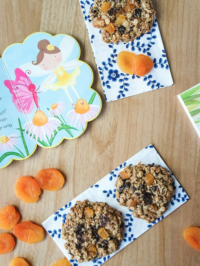 Dark Chocolate Apricot Lactation Cookies