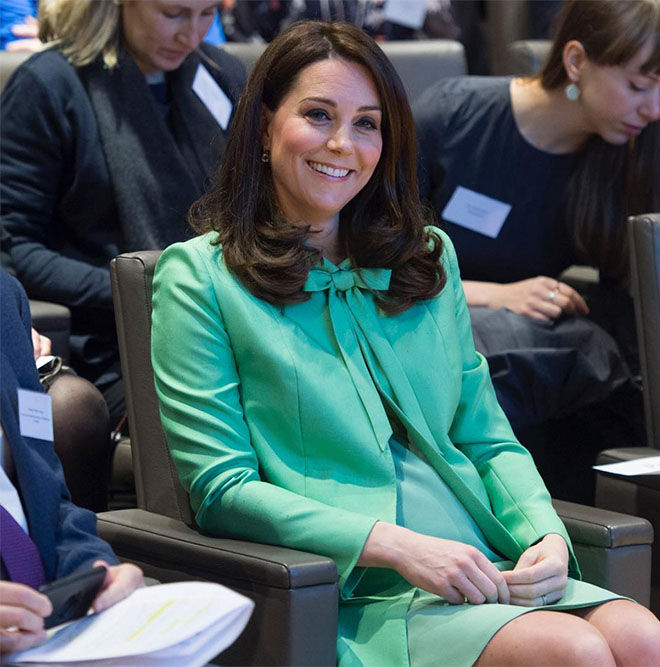 Duchess of Cambridge Kate Middleton third baby