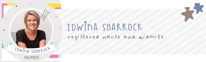 Edwina Sharrock expert midwife