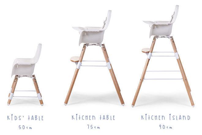 Evolu 2 High Chair progression