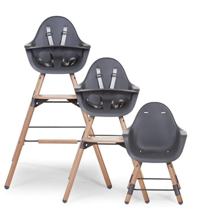Evolu 2 high chair black