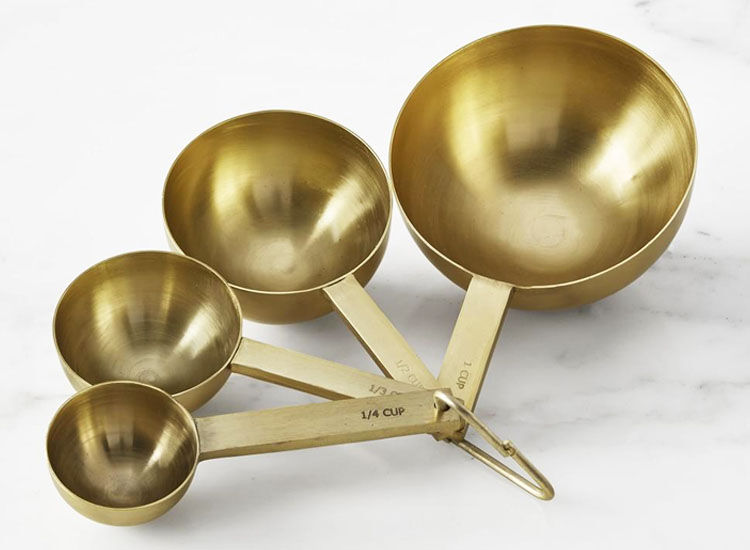 Gold Measuring Cups, Williams Sonoma