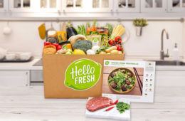 HelloFresh meal boxes