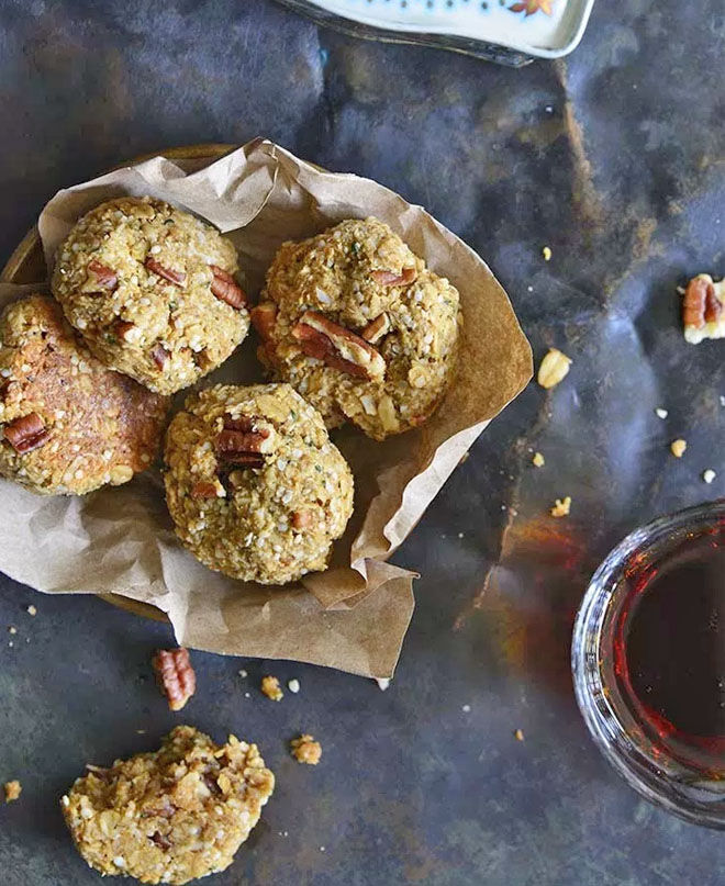 Maple Pecan Lactation Cookies