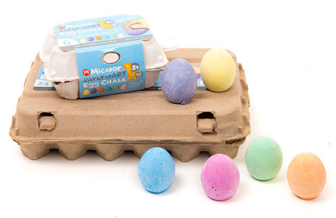 Micador Egg Chalk 24 pack
