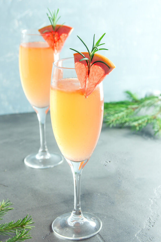 Mumosa mummy mocktail