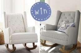 Win a pottery barn nursing chair
