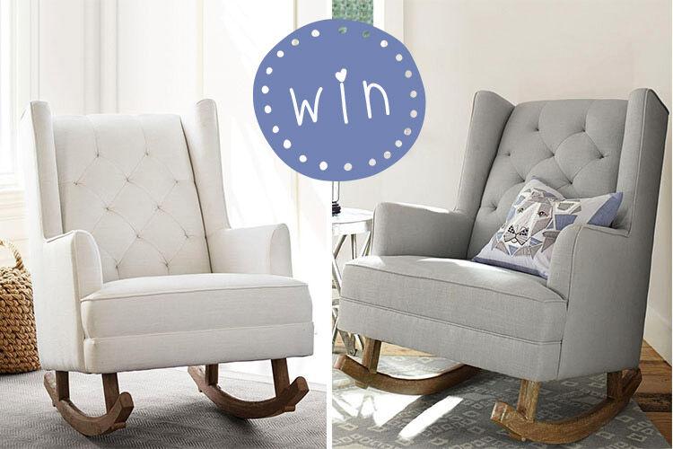 Win a pottery barn nursing chair