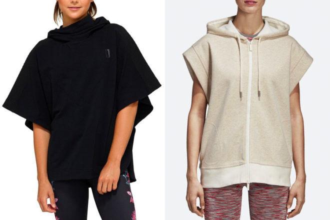 Adidas Sleeveless Hoodie, Jaggad Yoru Poncho