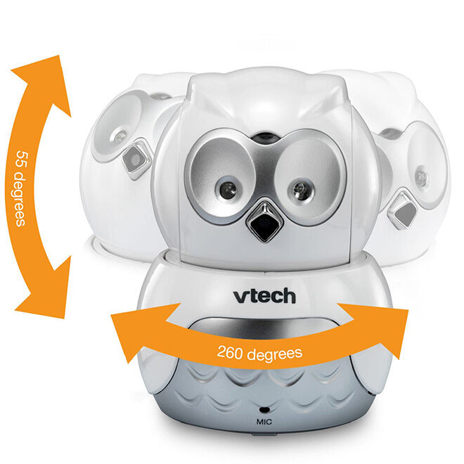 VTech owl video monitor camera