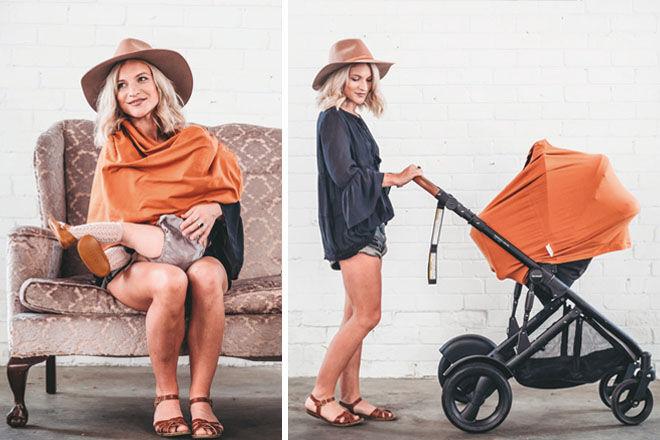 Zoe Sage 5-in-1 mumma Cover