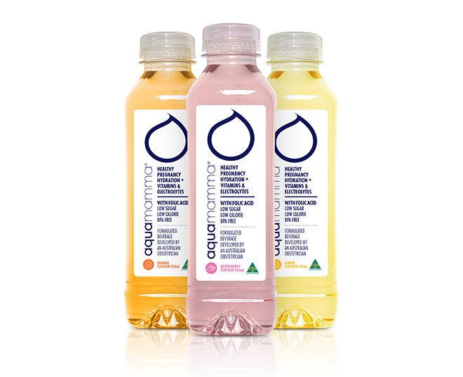 Aquamamma - healthy hydration for pregnancy and breastfeeding