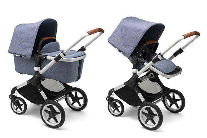 Bugaboo Fox bassinet and seat