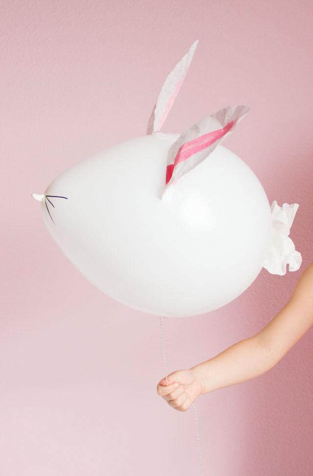 Easter Bunny Balloon craft